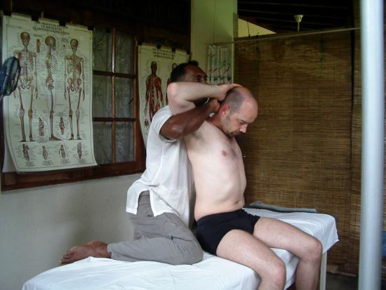 05.2003 Sri Lanka Ayurveda Massage2